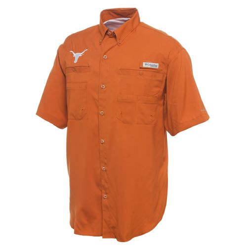 Display product reviews for Columbia Sportswear Men's University of Texas Collegiate Tamiami Short Sleeve Shirt