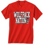 New World Graphics Adults??? North Carolina State University Nation T-shirt