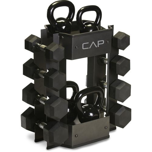 Display product reviews for CAP Barbell Dumbbell and Kettlebell Storage Rack