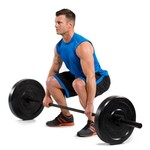 CAP Barbell Bumper Plates and Power Bar Set - view number 3