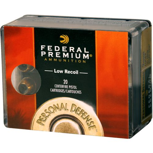 Federal Premium® Personal Defense® 9mm Luger 124-Grain Centerfire Pistol Ammunition