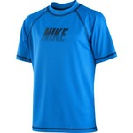 Nike Boys' Solid Logo Hydro Swim Top