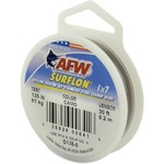 American Fishing Wire Surflon 40 lbs - 30 ft Leader Wire - view number 1