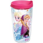 Tervis Disney Frozen Elsa and Anna 16 oz. Tumbler with Lid