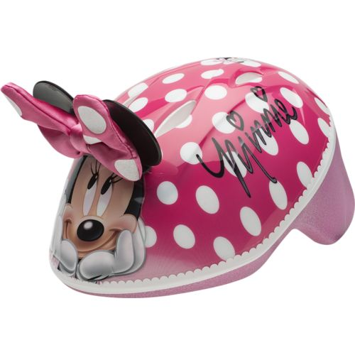 Display product reviews for Disney Toddlers' Minnie Me 3-D Helmet
