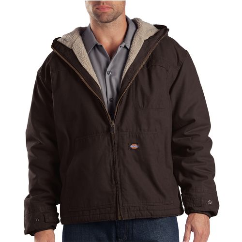 Display product reviews for Dickies Men's Duck Sherpa-Lined Hooded Jacket