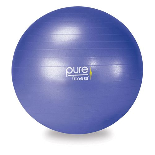 Pure Fitness 65 cm Fitness Ball with Pump