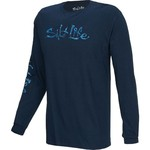 Salt Life Men's Skull of Life Long Sleeve Logo T-shirt