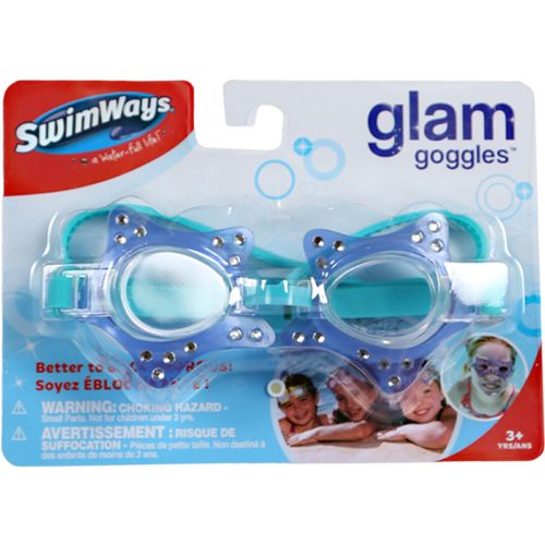 SwimWays Kids' Glam Goggles