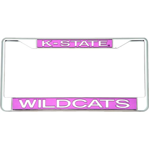 Stockdale Kansas State University Glitter License Plate Frame