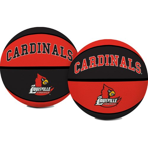 Jarden Sports Licensing University of Louisville Crossover Full Size Rubber Basketball