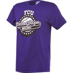 Bayou Apparel Men's Texas Christian University Baseball T-shirt