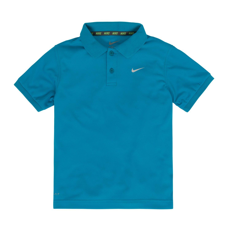 Nike toddler boys 39 dri fit short sleeve polo shirt academy for Dri fit polo shirts for boys