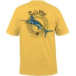 Salt Life Men's Camo Marlin T-shirt