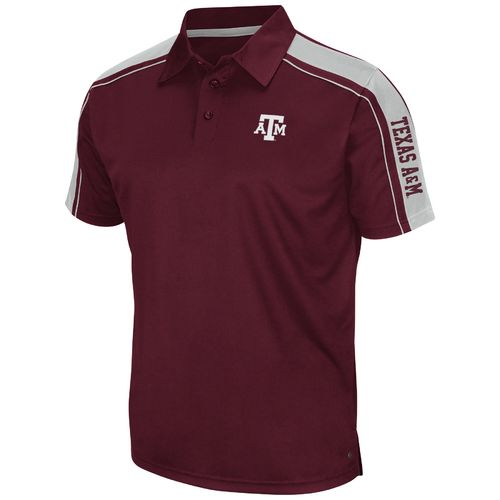 Colosseum Athletics Men's Texas A&M University Condor Polo