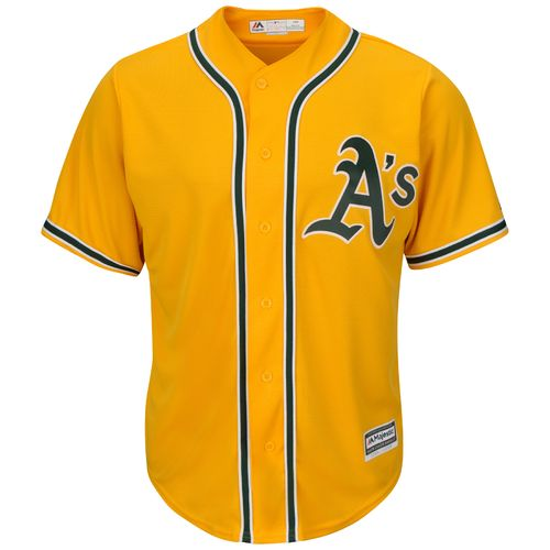 Majestic Men's Oakland Athletics Cool Base® Alternate Replica Jersey - view number 1