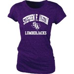 Blue 84 Juniors' Stephen F. Austin State University Triblend T-shirt