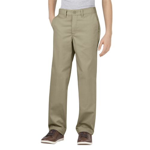 Dickies Boys' Flat Front Uniform Pant