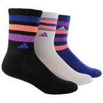 adidas Women's Retro II Crew Socks 3-Pack