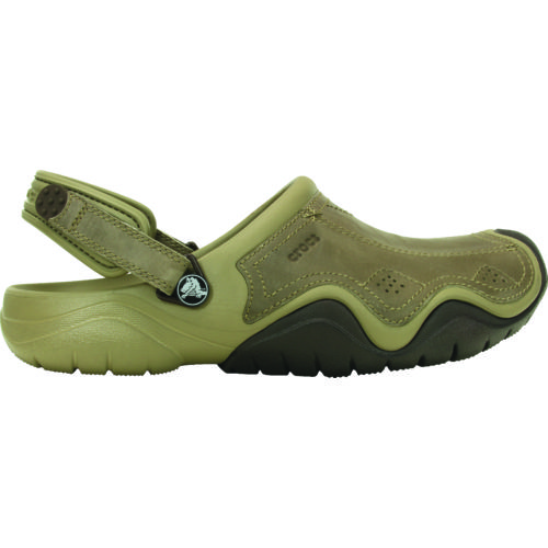 Crocs™ Men's Swiftwater Leather Clogs