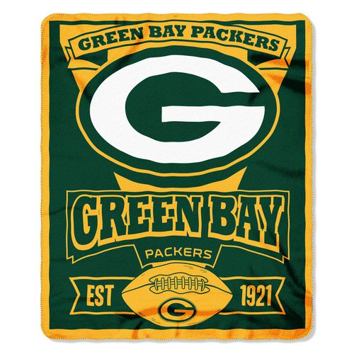 The Northwest Company Green Bay Packers Marquee Fleece Throw