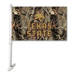 BSI Texas State University 2-Sided Car Flag