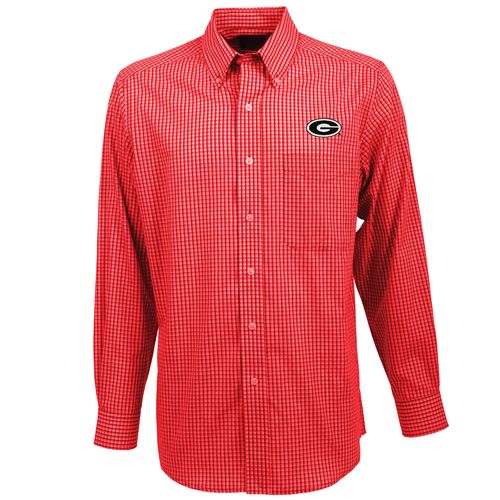 Antigua Men's University of Georgia Associate Button-Down Shirt