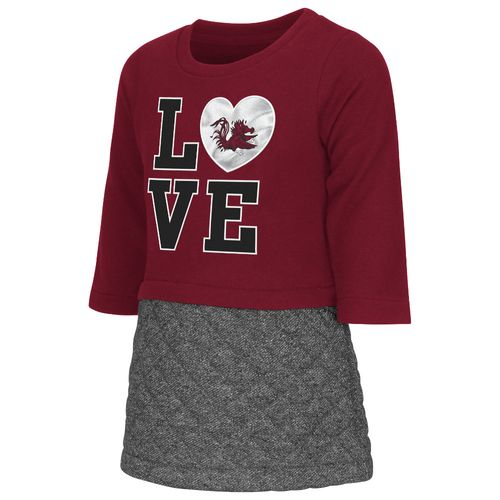 Colosseum Athletics Toddler Girls' University of South Carolina Glitter Dress