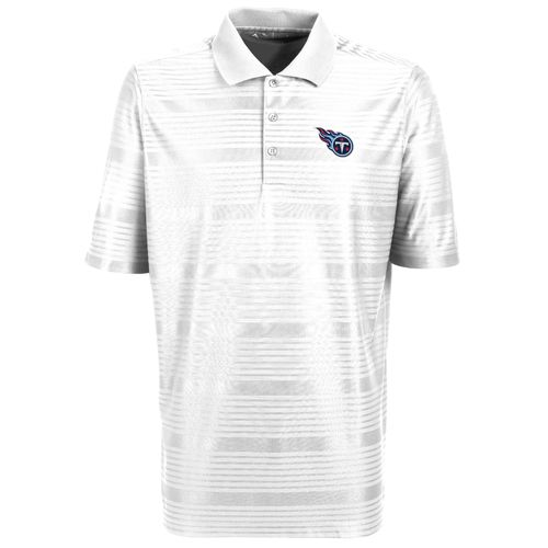 Antigua Men's Tennessee Titans Illusion Polo Shirt