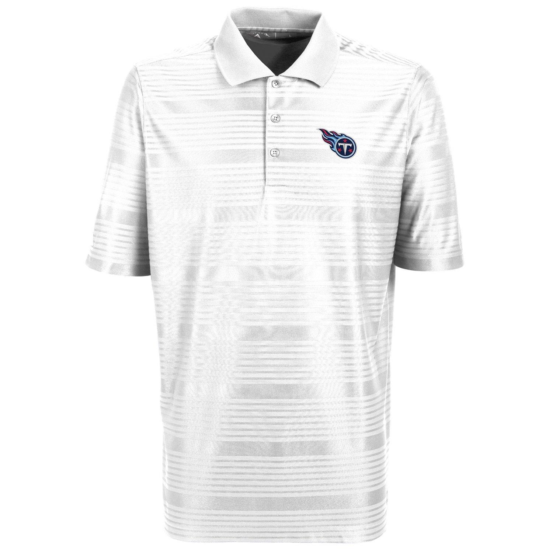 Antigua Men's Tennessee Titans Illusion Polo Shirt