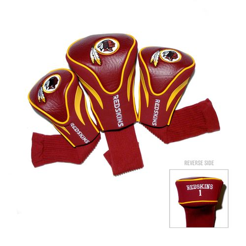 Team Golf Washington Redskins Contour Sock Head Covers 3-Pack