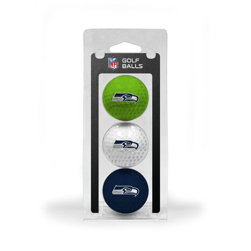 Team Golf Seattle Seahawks Golf Balls 3-Pack