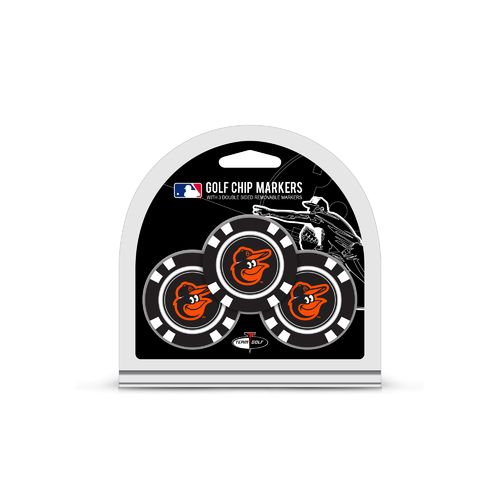 Team Golf Baltimore Orioles Poker Chip and Golf Ball Marker Set