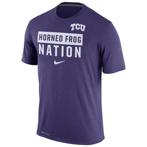 Nike™ Men's Texas Christian University Legend Local Verb T-shirt