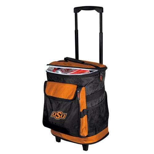 Logo Oklahoma State University 48-Can Rolling Cooler