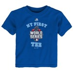 Majestic Toddlers' My First World Series T-shirt