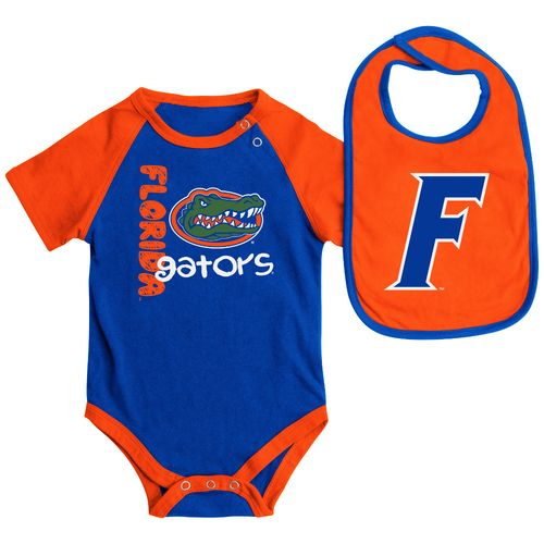 Colosseum Athletics Infants' University of Florida Rookie Onesie and Bib Set
