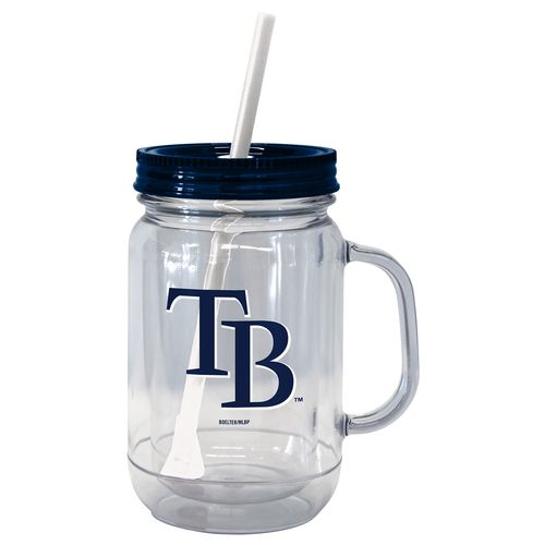 Boelter Brands Tampa Bay Rays 20 oz. Handled Straw Tumblers 2-Pack