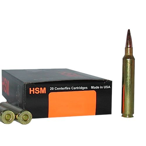 HSM Trophy Gold 6mm Remington 95-Grain Centerfire Rifle Ammunition - view number 1