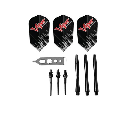 Viper Black Ice Soft-Tip Darts 3-Pack - view number 3