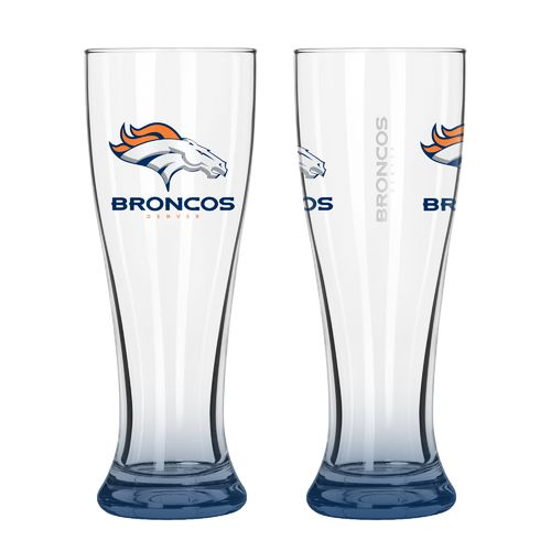 Boelter Brands Denver Broncos Elite 16 oz. Pilsners 2-Pack