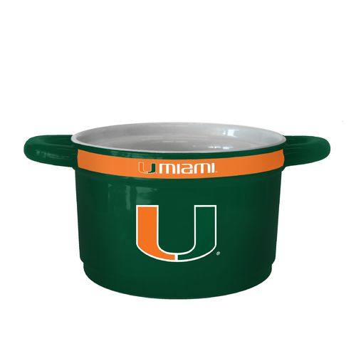 Boelter Brands University of Miami Gametime 23 oz. Ceramic Bowl