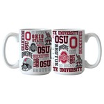 Boelter Brands Ohio State University Spirit 15 oz. Coffee Mugs 2-Pack - view number 1
