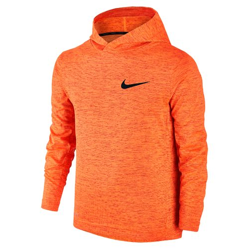 Nike Boys' Dri-FIT Hooded Long Sleeve Training Top