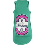 Three Squared Juniors' University of Oklahoma Antoinette Tank Top