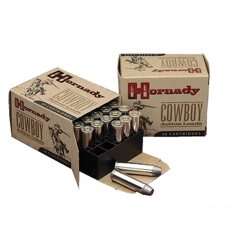 Hornady Swaged .44-40 Winchester 205-Grain Cowboy Action Centerfire Rifle Ammunition