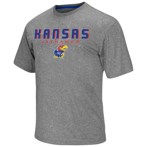 Colosseum Athletics Men's University of Kansas Arena Short Sleeve T-shirt