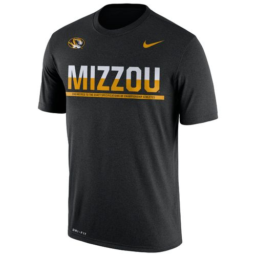Nike™ Men's University of Missouri Legend Staff T-shirt