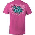 Image One Women's University of South Carolina Fireworks Comfort Color T-shirt