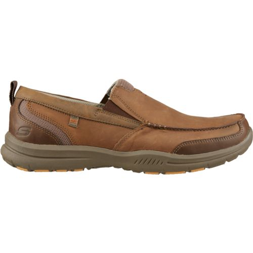 Display product reviews for SKECHERS Men's Relaxed Fit Elected Brano Slip-On Shoes